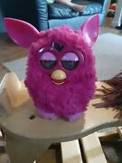 Furby Hasbro 2012 Hot Pink Electronic Interactive Pet Toy Works Great Nice