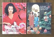 2 Vintage 1975 Avon Christmas And Valentineand039s Sales Campaign Catalog Book Booklets
