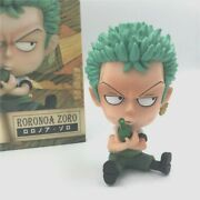 One Piece Anime Sitting Ver Childhood Action Figures Collectible Model Free Ship