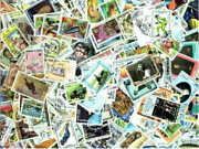 French Community Stamp Collection - 2,000 Different Stamps - All Large