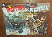 All Star Western W/jonah Hex 10 And 11, 2012, Dc Free Shipping