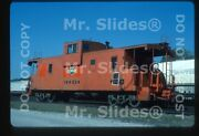 Original Slide Ccandp Chicago Central And Pacific Icg Paint Caboose 199534 In 1986