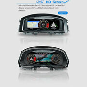 12.5and039and039 Lcd Car Instrument Dashboard For Vw Passat B8 Golf 7variant W/ Audi Style