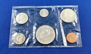 1966 Canadian Silver Dollar Six Coin Set Uncirculated