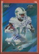 Jarvis Landry 2015 Topps Fire Blue Foil Autographs Ssp And039d / 75 Dolphins Browns