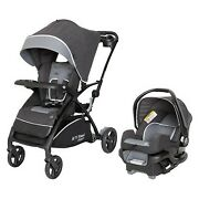 Baby Trend Sit N' Stand 5-in-1 Shopper Stroller Travel System - Gray