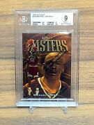 Michael Jordan 1997-98 Finest Masters Bgs 9 W/ 2x 9.5 Subs Protector Peal