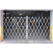 Grainger Approved Peco 2080 Folding Gategray18 To 20 Ft. Opening W