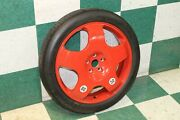 03-10 Continental Gt Red Painted Alloy Donut Compact Spare Trim Wheel Tire Oem
