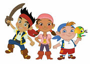 330888 Jake And The Neverland Pirates Print Poster Ca