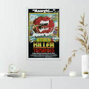 353776 Attack Of The Killer Tomatoes Movie Print Poster Ca