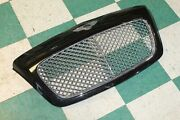 09-11 Continental Gt Upper Bumper Grille Black Painted Surround Mesh Grill Oem