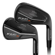 New Cobra King Forged Flow 4-pw Cb/mb Irons Choose Flex And Dexterity