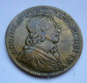 1655 French Historic Antique Token / Medal / Jeton Berry Bourges