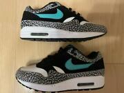 Nike Air Max 1 Atmos Cement Elephant Co.jp 908366 001 Size Us 8.5 With Box