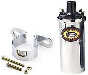 Pertronix 45001k Flame-thrower Ii Coil And Bracket Kit