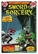 Bronze Age Dc Sword Of Sorcery 1 Nm Fafhrd And Gray Mouser Fantasy 1973