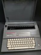 Smith Corona Deville 470 Portable Electric Typewriter With Ribbon / Ln -tested