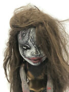 Vintage Scary Horror Plastic Doll Creepy Painted Halloween Gothic China Israel