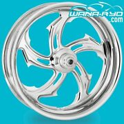 Performance Machine Wheel - Rival 26 X 3.5 Chrome - Harley Street Glide Road