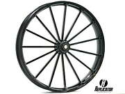 30 X 4 Talon Wheel And 140/40-30 Front Tire - Black - 2000-2020 Harley Touring