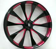 Stock2135diotocpink-dd-t Diode Black And Pink 21 X 3.5 Front Wheel Matching Rotor