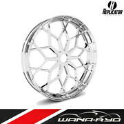 23 X 3.75 Rep-04 Prodigy Wheel And Tire Package Chrome - Harley Touring 2000-2020