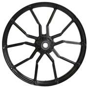 Ryd Wheels Phase Black 23 X 5.5 Front Wheel - 2000-2020 Harley Touring Bagger