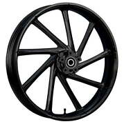 23 X 3.75andrdquo Kinetic Blackline Front And Rear Wheels - 2000-up Harley Touring