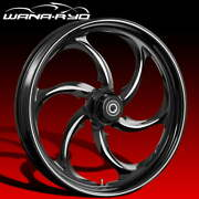 Ryd Wheels Reactor Starkline 21 Fat Front And Rear Wheel Only 09-19 Bagger