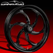 Ryd Wheels Reactor Blackline 23 Front And Rear Wheels Only 00-07 Bagger