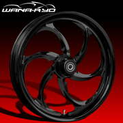 Ryd Wheels Reactor Blackline 21 Fat Front And Rear Wheel Only 09-19 Bagger