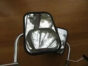Vintage Dorman Truck Van Suv Side Mirror Pair Stainless 1970and039s 80and039s 90and039s