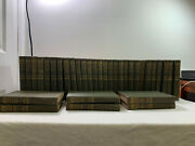 Lot Of 34 The Works Of Charles Dickens New National Edition 1890 Illustrated