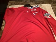 New Authentic Majestic Retro Phillies World Series Pullover In Xl W Free Ship