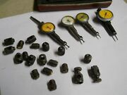 Starrett 711 Last Word Indicator Parts Lot. 24 Pieces Used As Is