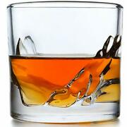 Liiton Grand Canyon Whiskey Glass Set Of 4 Heavy Whisky Tumbler Best As Old F...