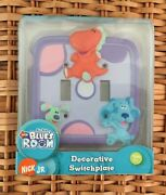 Nick Jr Blue's Room Decorative Switchplate - Double Toggle - New In Box