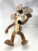 Wile E Coyote Vintage 1971 Mighty Star Looney Tunes Warner Bros 31 Plush