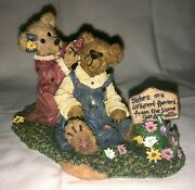2008 Boyd's Bears And Friends Kristen And Amy First Friends 228533 First Edition