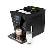 Fully Automatic Cappuccino Coffee Machine Maker With Milk Frother For Latte