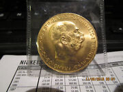 1915 100 Ccorone Gold 1.02 Oz Coin Mint State +++++