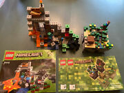 Lego 21102 Minecraft Forest Micro Complete, Used, 21113 Lego Set, Used, No Box