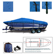 17and039- 19and039 V-hull Runabouts Bowrider Trailerable Boat Cover