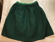 American Girl Doll Felicity Green Riding Outfit Habit Wool Skirt Retired