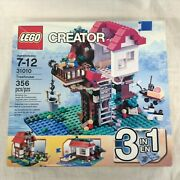 New Lego City Creator 3-in-1 Tree House Set 31010 Retired 2013 Factory Sealed