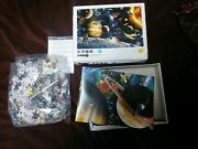 Jigsaw Puzzle Space Planets Astronaut Japan Japanese Never Opened Poster Rare