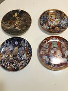 The Franklin Mint Heirloom Collection Plates By Bill Bell 3 And Tom Thumb