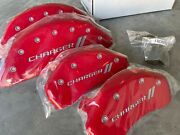 Mgp Caliper Covers 12162sch1rd Red Brake Covers Fits 2011-2020 Dodge Charger