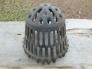 The Barrett Co. Antique Twine Yarn Ball Holder Cast Iron Or Use As A Vent Cover